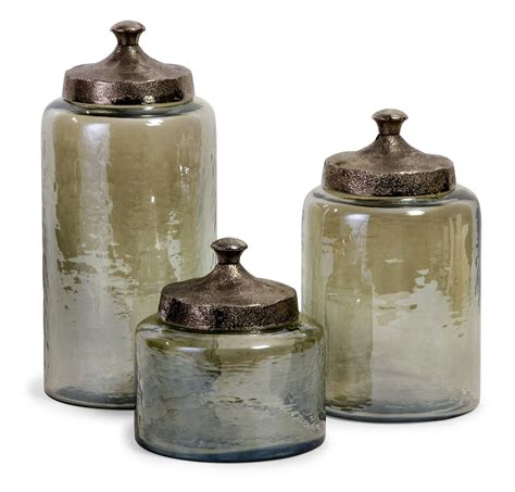 glass canisters for kitchen canister set usa