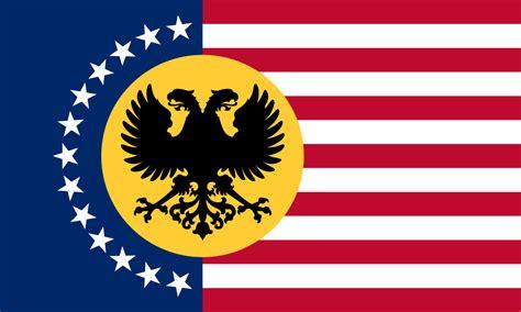Russian-american Alliance Flag By Cyberphoenix001 On