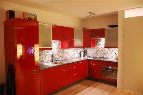 Prijs Hoogglans Keuken by Hoogglans Rode Keuken Overspuiten Werkspot