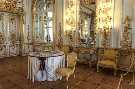 catherine palace  masterpiece  baroque russia