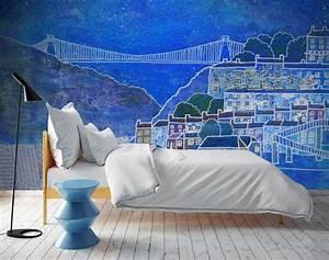 Custom, Printed, Wall, Murals, Custom, Wallpaper, Printing