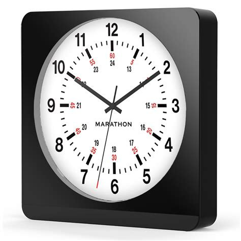 ws663 light sweep wall clock clifton traders