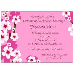 bridal card retirement invitations giving to your ideas