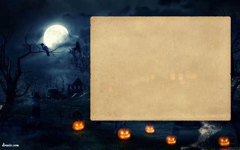 printable halloween invitation template  scary