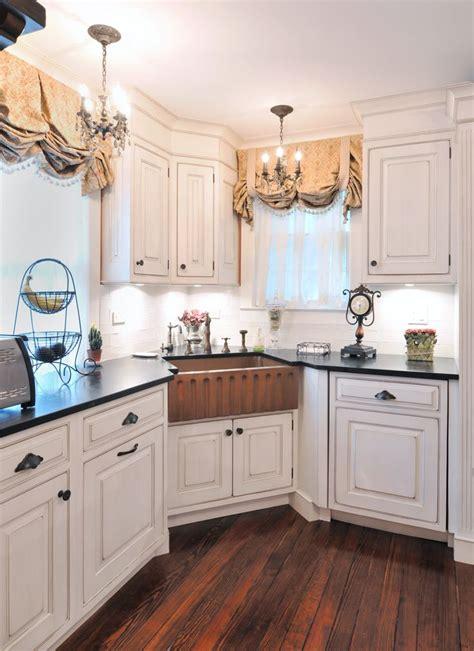 copper apron farm sink country kitchen kitchen