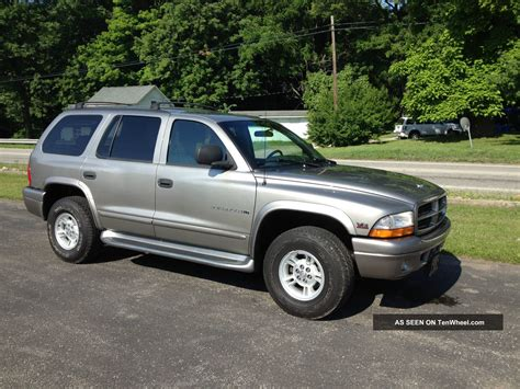 2000 Dodge Durango Slt Plus Sport Utility 4 Door 4 7l