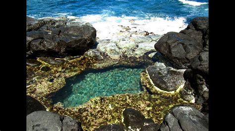 Kauai The Queens Bath Youtube
