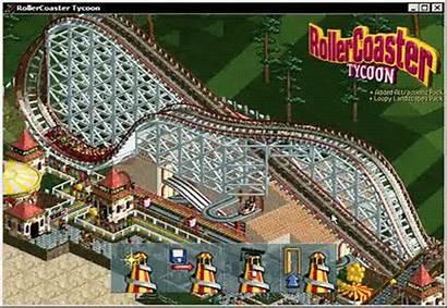 Coaster Roller Tycoon Rollercoaster Games Gifs Achterbahnen