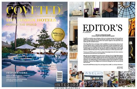 coveted magazine s 7th issue is all about world s best design hotels interior design magazines