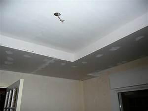 Faux Plafond Pvc : cuisine exciting faux plafond faux plafond salon moderne ~ Premium-room.com Idées de Décoration