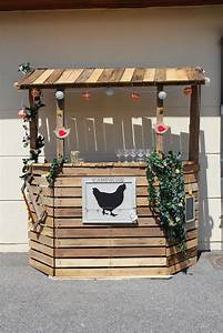 Bar Exterieur Bois : bar en bois de palette am nagement boutique pinterest bar en bois de palettes bar en ~ Teatrodelosmanantiales.com Idées de Décoration