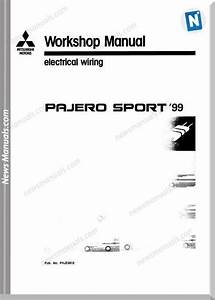 Mitsubishi Pajero Sport 1999 Year Electrical Wiring
