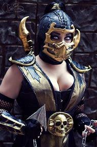 Mortal Kombat Female Scorpion Cosplay
