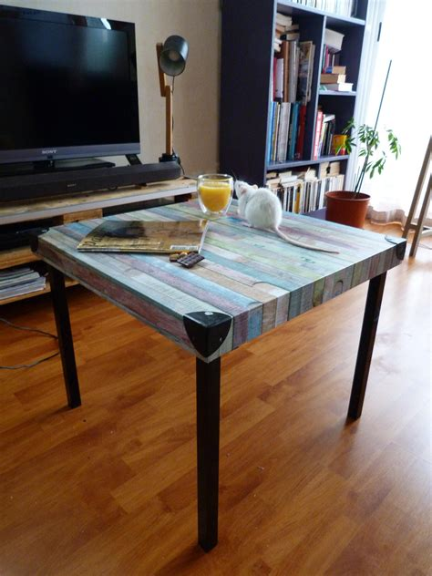 Customiser Une Table Basse Diy Relooker Une Table Basse Ik 233 A