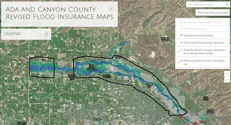 New Fema Maps Could Affect Hundreds In Ada, Canyon County