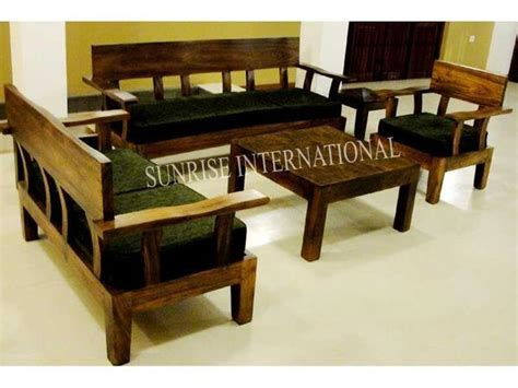 Contemporary Solid Wood Sofa Set Collection by Buy Solid Wood Sofa Set India Sofa Designs