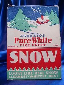 """Pure White"" Asbestos Snow Decoration Flickr - Photo"