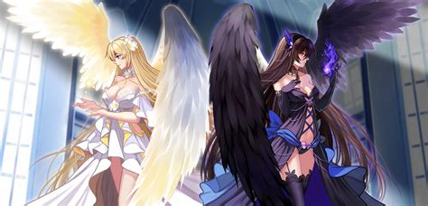 Fallen Anime Wallpaper - wallpaper anime wings original characters