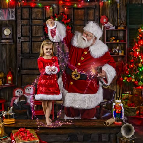The Best Santa Claus Portrait Experience in Dallas Fort ...