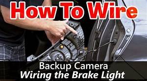 Back Up Camera Wiring