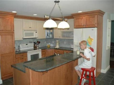 kitchen ideas for small areas small kitchen breakfast bar home design