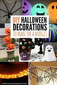 DIY Halloween Decoration Ideas - 25 budget friendly ideas!