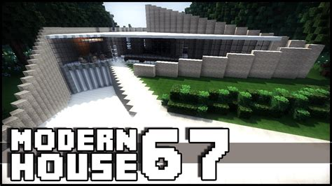 minecraft modern house  epic shapes youtube