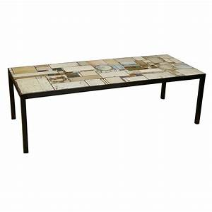 ceramic tile coffee table by pia manu With coffee table with tiles