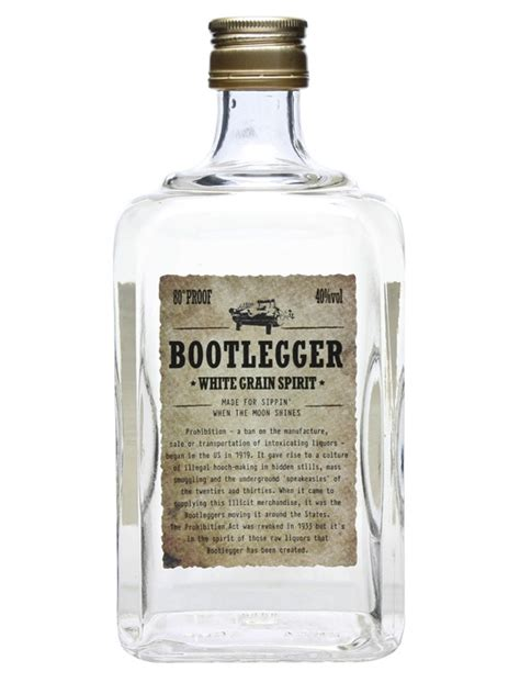 Bootlegger White Grain Spirit : The Whisky Exchange