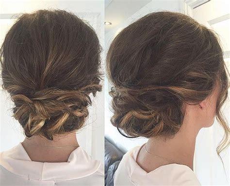 quick  easy updos  medium hair buns casual