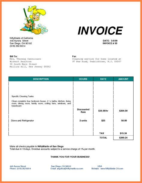 invoice template open office invoice sample template