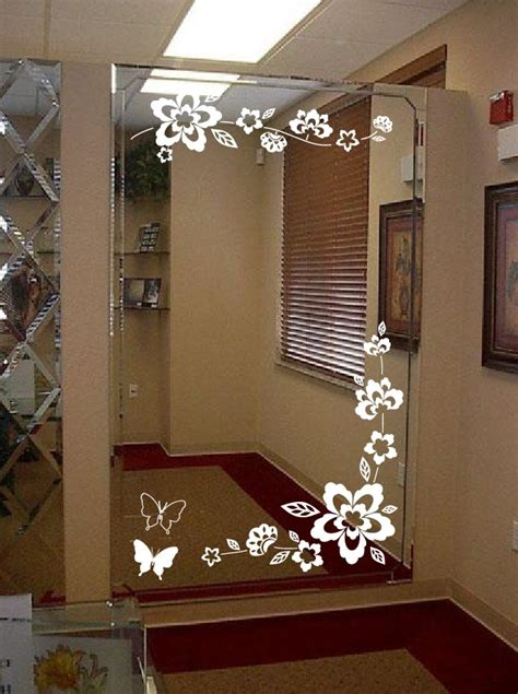 Mirror Stickers Bathroom by Mirror Decals For Bathrooms Bathroom Vinyl Diy