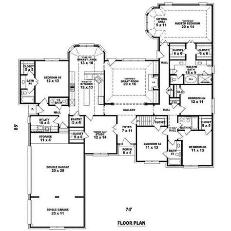 House Plans 5 Bedroom by Unique 5 Bedroom Cape Cod House Plans New Home Plans Design