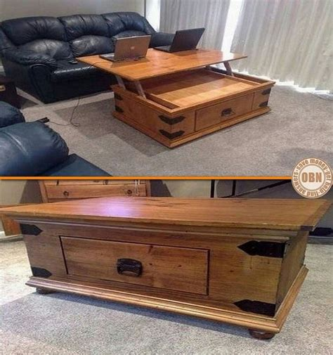 lift top coffee table plans woodworking projects plans