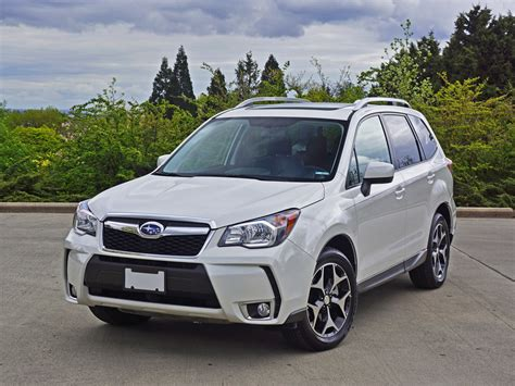 2016 Subaru Forester 20xt Touring Road Test Review