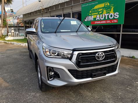 2019 Toyota Hilux Facelift by 2019 2020 Toyota Hilux Revo Thailand Facelift Minor Change