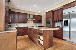 pictures of kitchens traditional medium wood cherry color 04 1234
