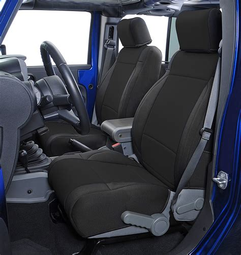 Coverking Custom Front Seat Covers For 0710 Jeep Wrangler