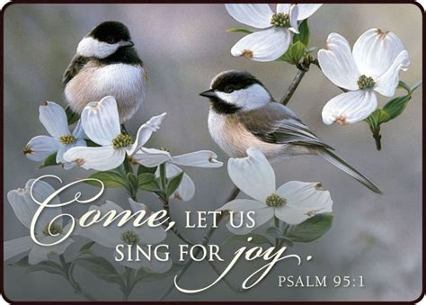 """Psalm 951 """"come, Let Us Sing For Joy To The Lord; Let Us"""