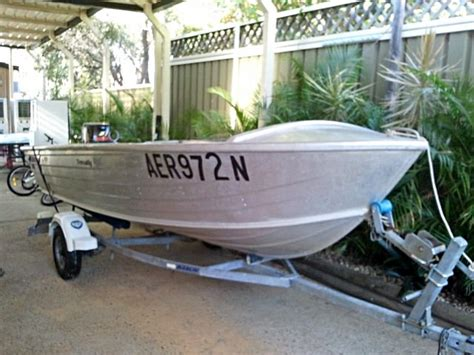 Buy Quintrex Boat by Quintrex Trevally 4m Tinny Buy And Sell Boats Penrith