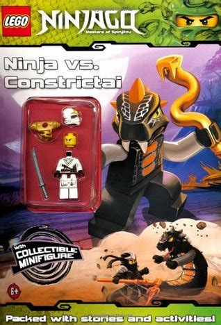 lego ninjago ninja  constrictai activity book