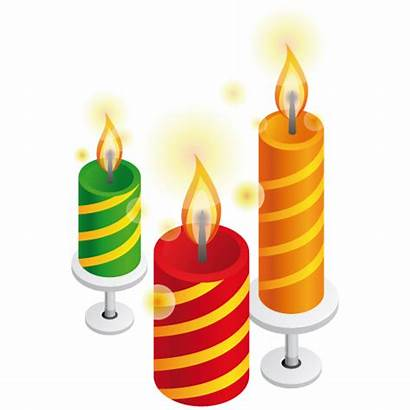 Candles Candle Natal Icon Render Birthday Velas