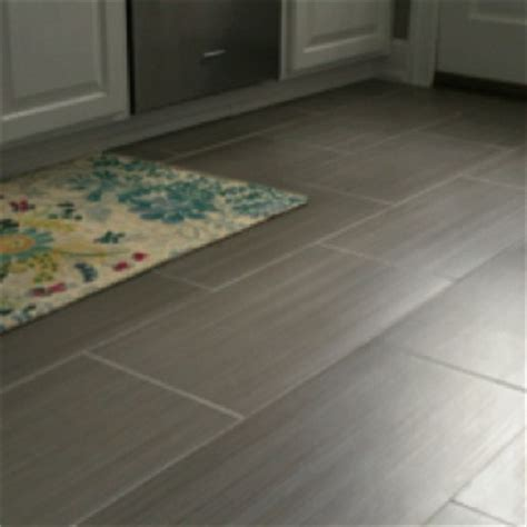 Rectangular Tile Gray Modern Contemporary Flooring