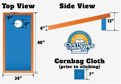 guide   official cornhole game customcorntosscom