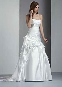 satin a line strapless wedding dresses ideal weddings With strapless satin wedding dress