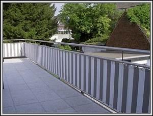 Balkon Sichtschutz Kunststoff Grau : balkon sichtschutz stoff ya46 hitoiro ~ Bigdaddyawards.com Haus und Dekorationen