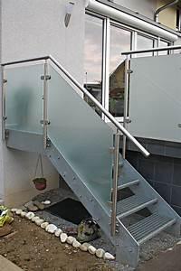 Treppengeländer Mit Glas : vogel metallbau ~ Markanthonyermac.com Haus und Dekorationen