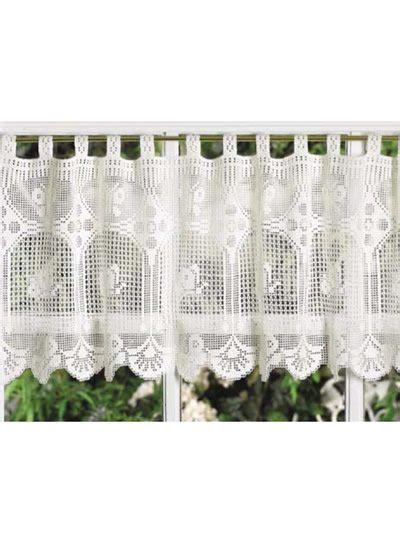 10 Beautiful Free Crochet Curtain Patterns ? Crochet
