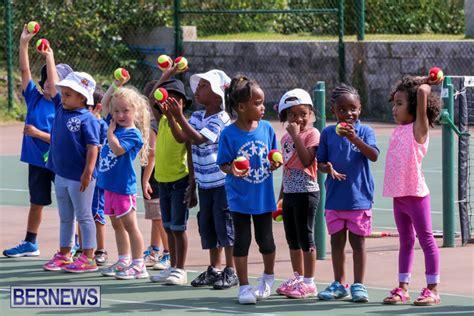 st george preschool photos amp preschoolers tennis exhibition bernews 260