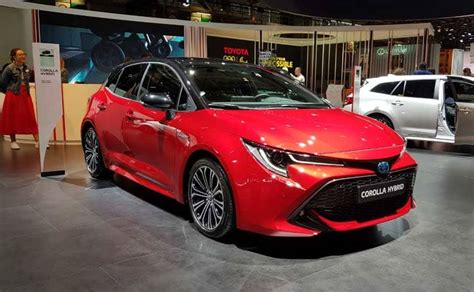 New Toyota Corolla Hybrid Unveiled